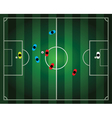 soccer football game vector image