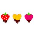 valentines chocolate vector image