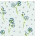 Watercolor imitation hand drawn seamless pattern vector image