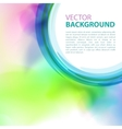 Background with watercolor effect vector image