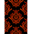 Halloween damask vector image