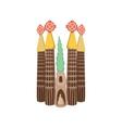 Sagrada Familia Barcelona icon cartoon style vector image