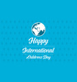 childrens day blue background collection vector image