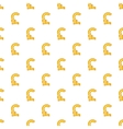 Pound currency symbol pattern cartoon style vector image