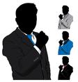 business man success vector image