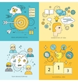 Set of Creating Ideas Concept vector image