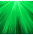 Green luminous rays EPS 8 vector image