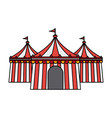 circus or carnival icon image vector image