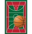 basketball 01 vector image vector image