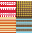 retro backgrounds vector image