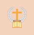 jesus christ is the bread of life vector image