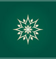 lotus logo icon vector image