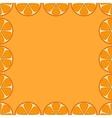 background oranges vector image vector image