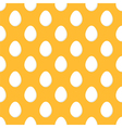 Chicken easter eggs seamless pattern background vector image