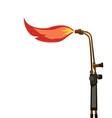 Oxy acetylene torch propane vector image