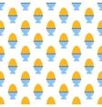 Egg pattern seamless vector image