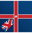 uk background vector image