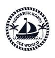 sea world life isolated vector image