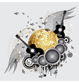 Abstract party design5 vector image vector image