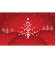 retro Christmas vector image vector image