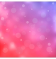 Pink bokeh light background vector image