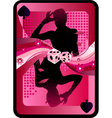 game card design vector image