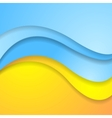 Bright abstract contrast corporate wavy background vector image