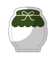 tea pot container isolated icon vector image