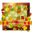Autumn into Winter vector image vector image
