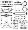 Design element set vector image vector image