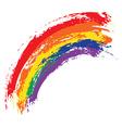 Grunge Rainbow vector image