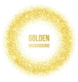 Golden dots vector image