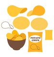 Potato Chips vector image