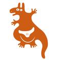 Funny Kangaroo vector image