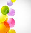Watercolor Balloons vector image