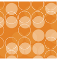 retro circles vector image