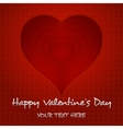 heart happy valentines day vector image