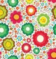 Cute floral vector image vector image