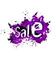 Sale grunge background vector image vector image