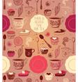Tea party card design vector image vector image