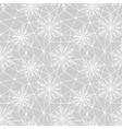 lace white snowflakes pattern vector image