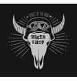 skull bull Design element in vector image