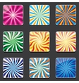 abstract backgrounds for apps vector image vector image
