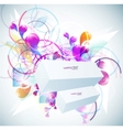 elegant abstract background vector image