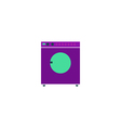 Laundry Icon vector image