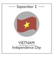 Vietnam Independence Day vector image