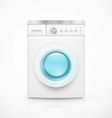 Washing machine vector image