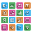 Modern Flat Icons Vol 2 vector image