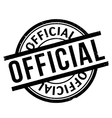 Official rubber stamp vector image