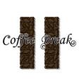 coffee break- drink vector image vector image